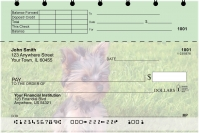 Yorkies Top Stub Personal Checks