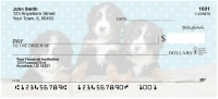Bernese Mountain Dog Pups Keith Kimberlin Personal Checks