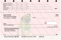 Pug Pups Keith Kimberlin Top Stub Personal Checks