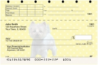 Westie Pups Keith Kimberlin Top Stub Personal Checks