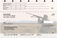 Duck Hunting Top Stub Personal Checks