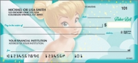 Tinker Bell Disney Personal Checks - 1 Box - Singles