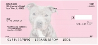 Bully Breed Love Personal Checks