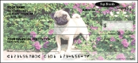Top Breeds - Pug Personal Checks - 1 box