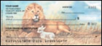 Lion & the Lamb Personal Checks - 1 box