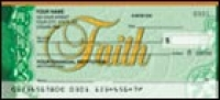I Corinthians 13:13 Personal Checks - 1 box