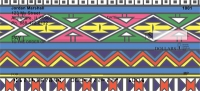 African Tribal Patterns Personal Checks