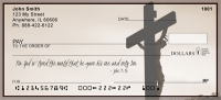 Religious Crosses - John 3:16 Personal Checks