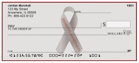 Diabetes Awareness Ribbon Personal Checks