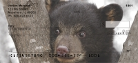 Black Bear Cubs Personal Checks