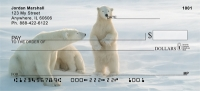 Arctic Polar Bears Personal Checks