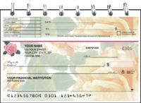 Majestic Rose Top Stub Personal Checks
