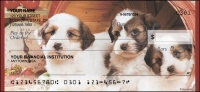 Puppy Pals Personal Checks - 1 box