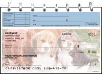 Puppy Pals Top Stub Personal Checks
