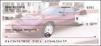 1993 Anniversary Edition Corvette Personal Checks - 1 box