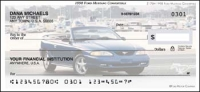 1998 Ford Mustang Convertible Personal Checks - 1 box