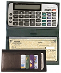 Personal Portable Checkbook Calculators Wallet Size