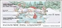 Gary Patterson Christmas Santas Personal Checks - 1 box