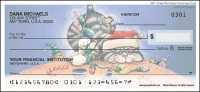 Gary Patterson Christmas Cats Personal Checks - 1 box